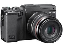 GR LENS A12 50mm F2.5 Macroを装着したGXR