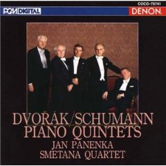 ドヴォルザーク/シューマン ピアノ五重奏曲