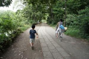 次男と石神井公園3